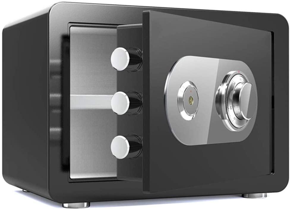 Safes Security, Key Safe Small Office Home - Multicolor - 30x38x30cm - Insurance box Safes (Color : Black, Size : 38cm)