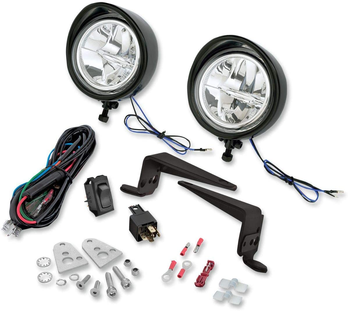 Show Chrome Accessories 30-110BK Driving Lights