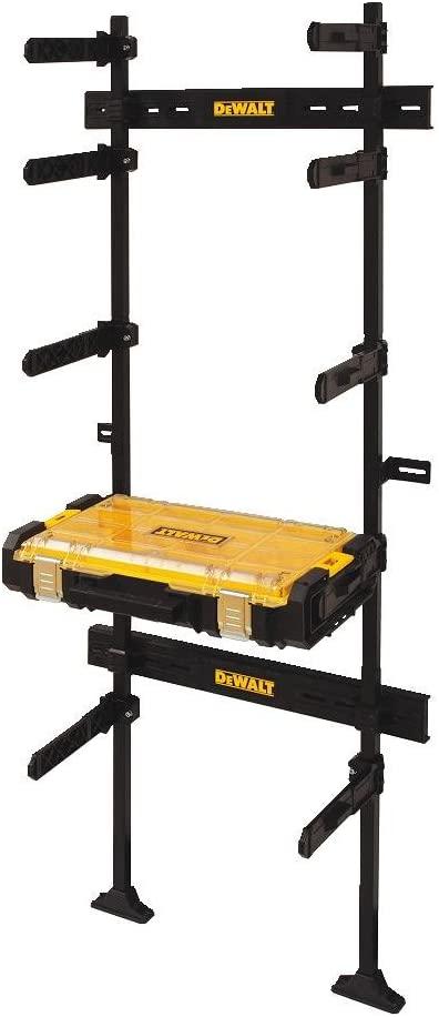 DEWALT Garage Storage Rack & Clear Lid Organizer, Tough System (DWST08270)