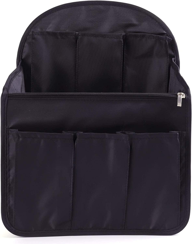 Xcharmer Store Backpack Organizer Insert Travel Purse Multi-Pocket Bag in Bag Organizer,Large Backpack Organizer