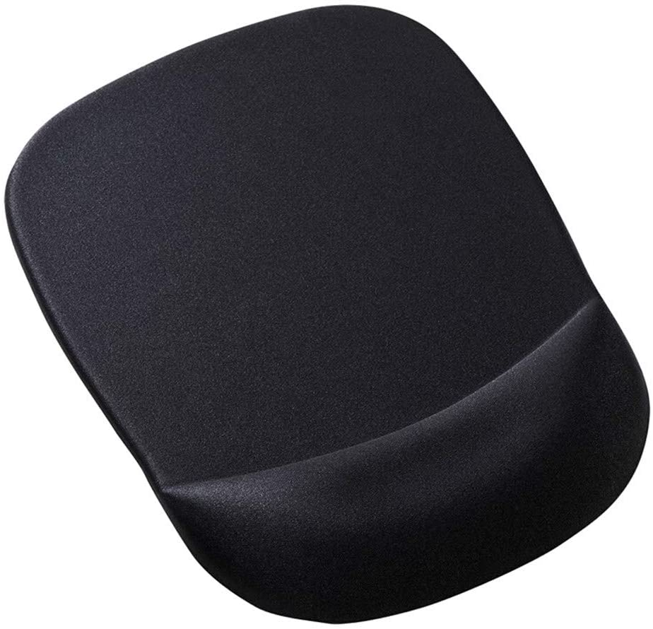 NBHBSZY Mouse pad, Ergonomic Wrist Rest, Suitable for Office Workers, Gamers, etc, Using Slow Rebound Memory Foam Material.