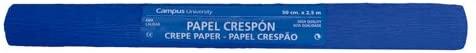 Makro Paper fcpnbl/600327–Crepe Paper, Pack of 10, 50x 250cm, Navy Blue