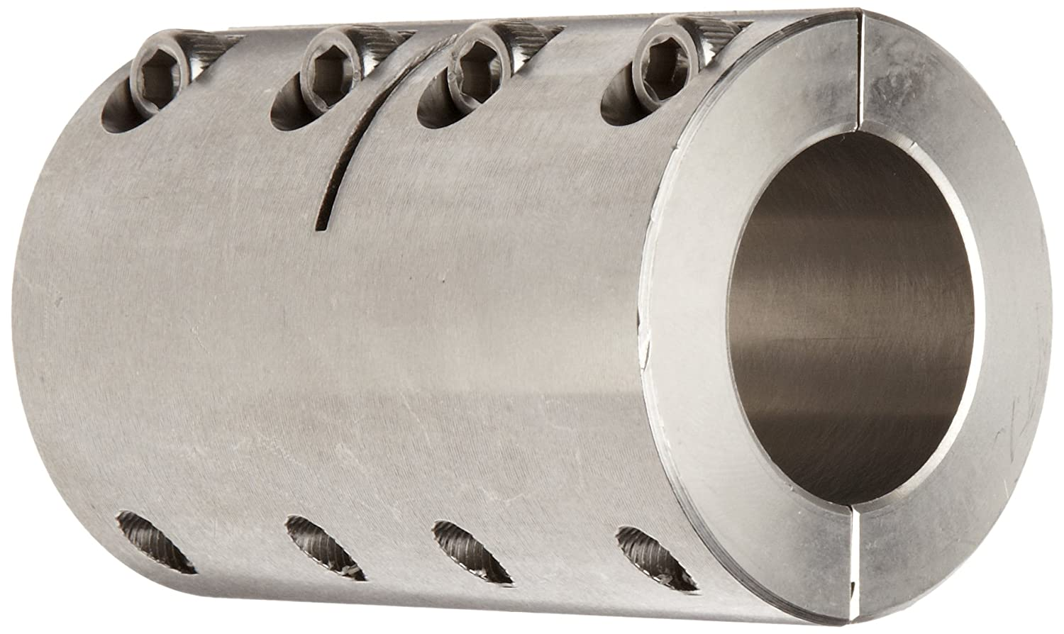 Ruland SPX-24-24-SS Two-Piece Clamping Rigid Coupling, Stainless Steel, 1-1/2