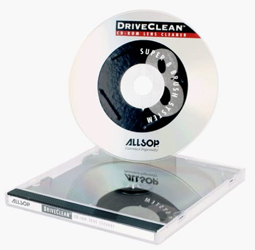 Allsop Drive Clean CD-ROM Lens Cleaner (Discontinued by Manufacturer)