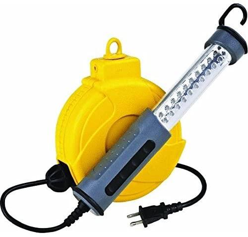 Alert 920LS LED Work Light On 20 Retractable Reel