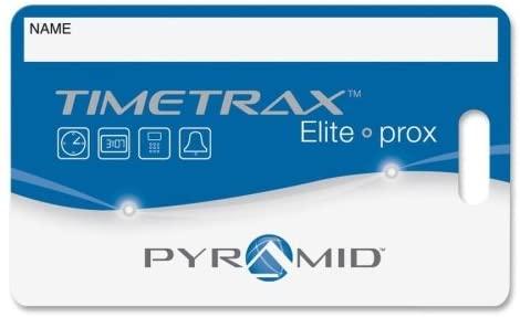 PTI42454 - Pyramid Timetrax Prox Time Card Badges