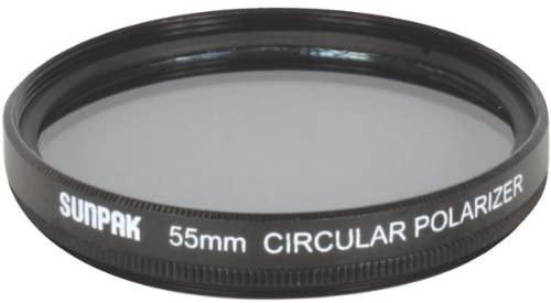 Sunpak 55mm Circular Polarized Filter