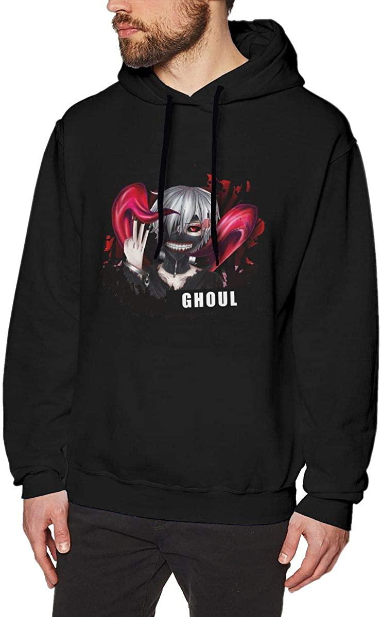 Tokyo Ghoul Men's Hip hop Sport Sweatshirt Hoodie Comfortable Pullover Hooded Tops