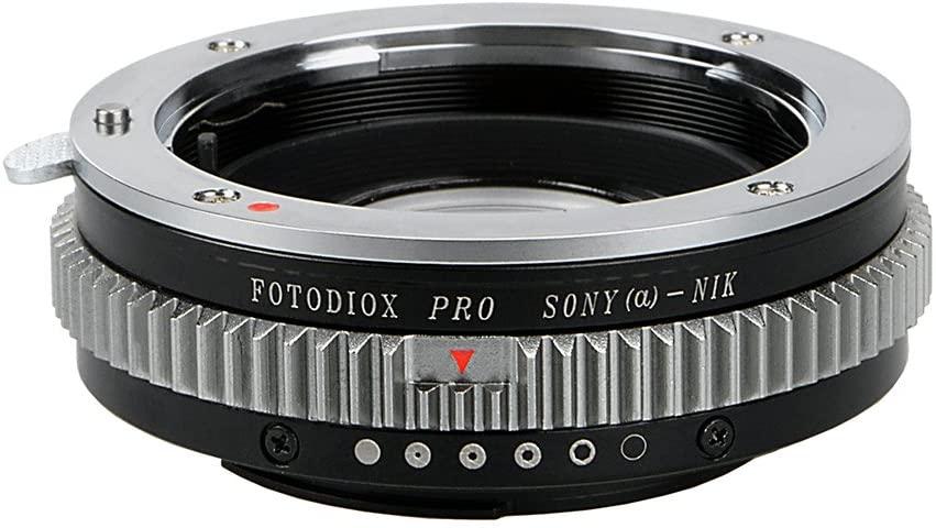 Fotodiox Pro Lens Mount Adapter, Sony Alpha A-Mount (Konica Minolta Maxxum AF) Lens to Nikon Camera