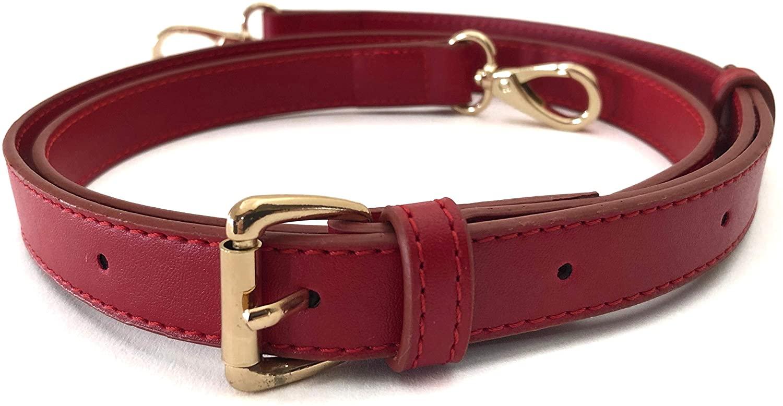 Adjustable Bag Strap for LV Designer Trendy Handbags (Red)