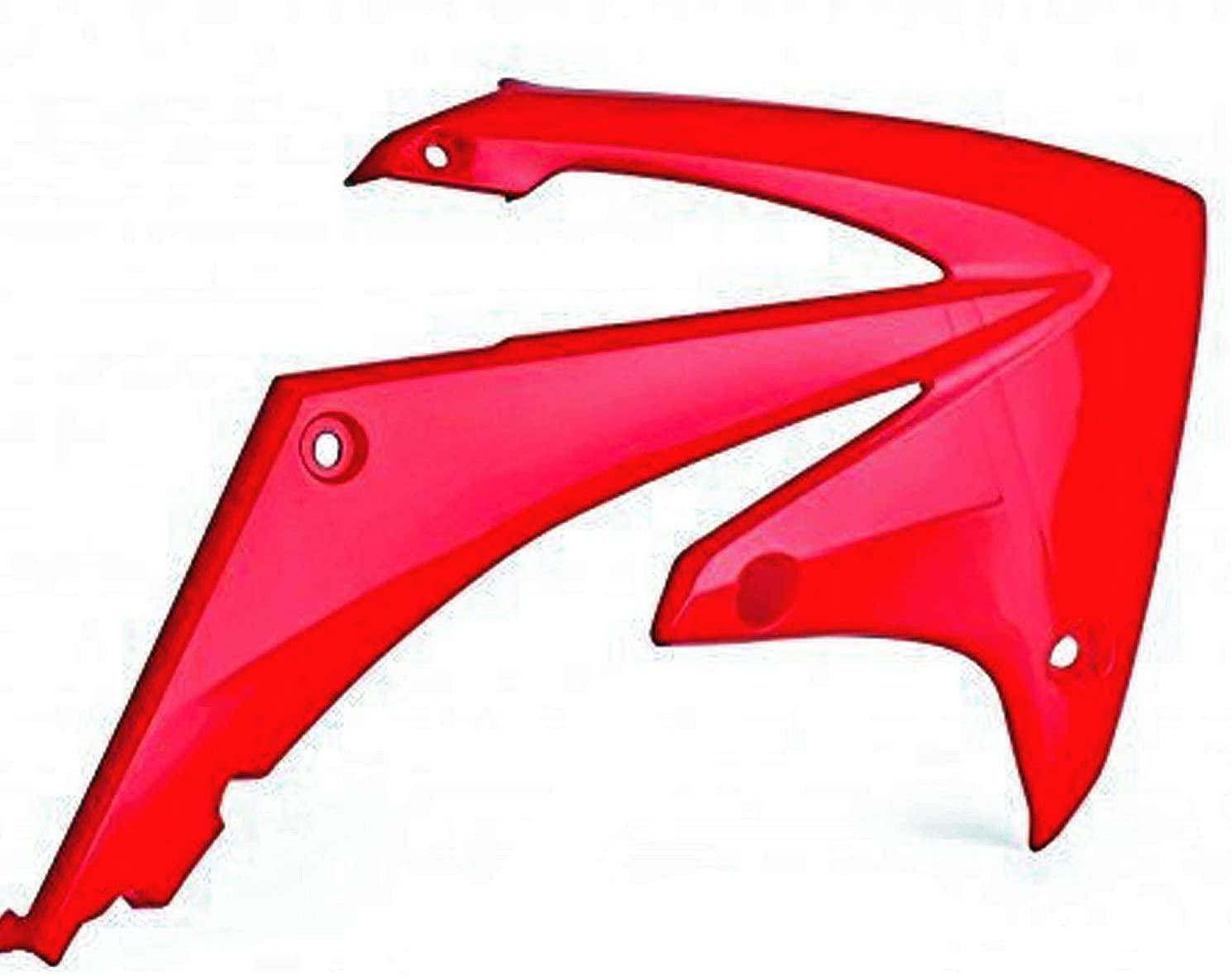 Polisport (8427000003) Red Radiator Scoop