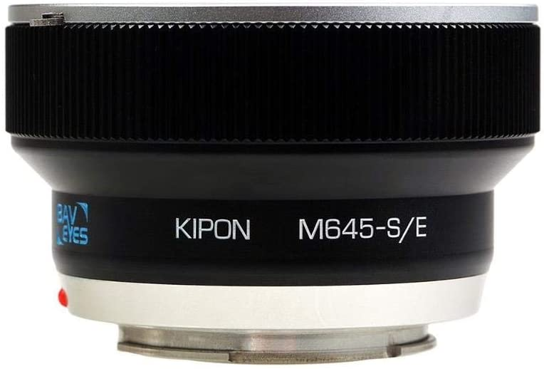 Kipon Baveyes Ultra 0.7X Adapter for Mamiya 645 Medium Format Lens to Sony E-Mount Camera