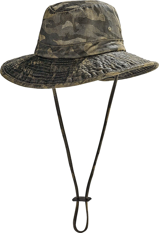 Coolibar UPF 50+ Kids' Outback Camo Boonie Sun Hat - Sun Protective