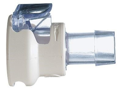 CPC (Colder) All-Plastic Quick Disconnect Hose Barb Coupling Body with Lock; Polysulfone (PS), 1/4