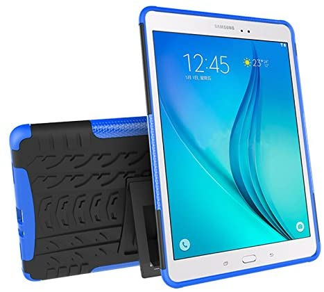 Galaxy Tab A 9.7 (SM-T550 / T555) Case, YMH Full-Body [Heavy Duty] & [Shock Proof] Hybrid Armor Protective Silicone Case with Kickstand for Samsung Galaxy Tab A 9.7 (2)