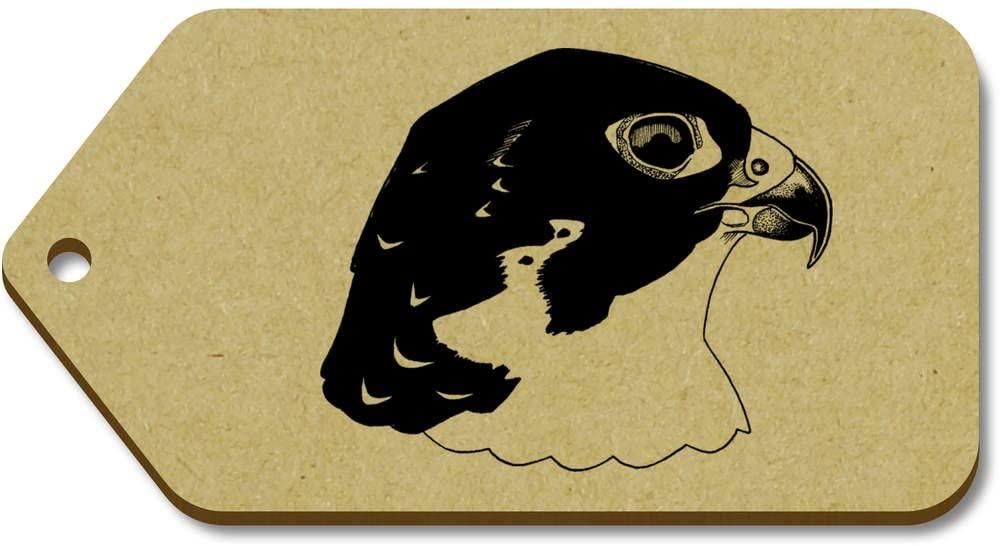 Azeeda 10 x Large 'Peregrine Falcon' Wooden Gift Tags (TG00040282)