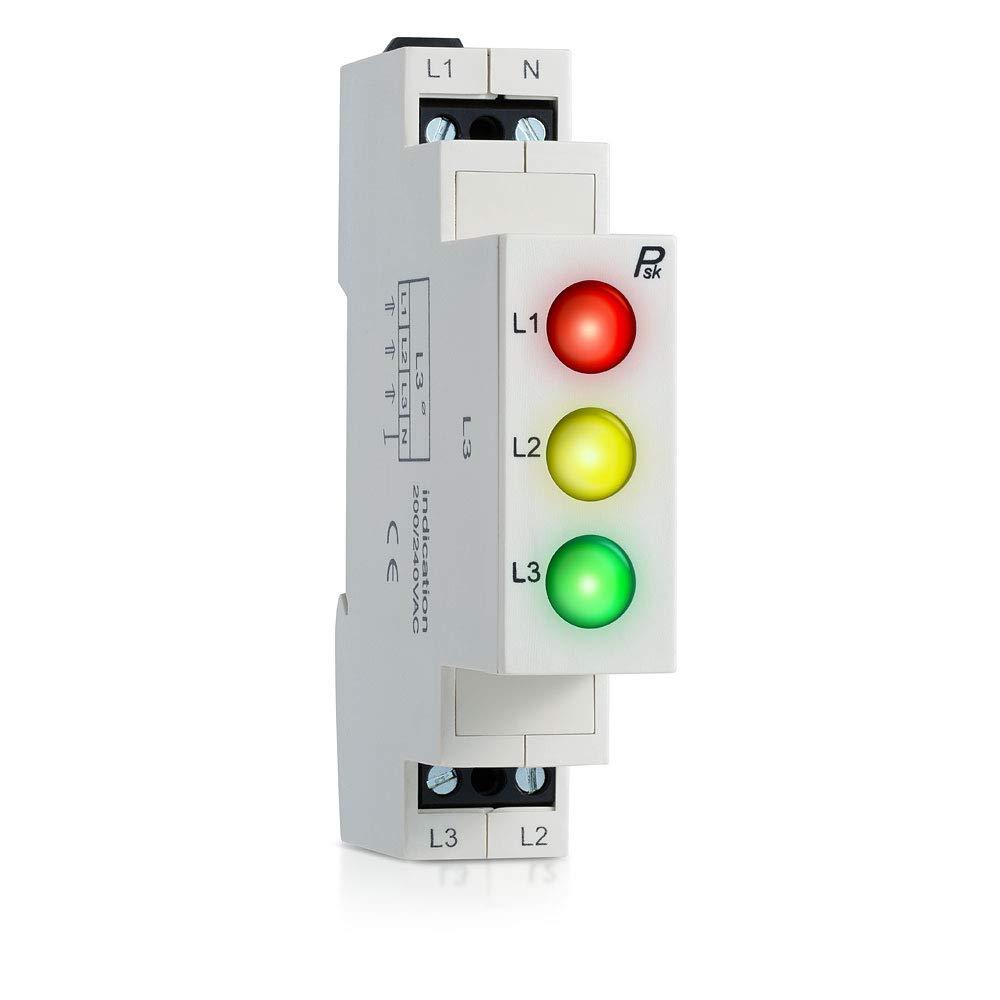 L3 LED Modular Power 3 Phase LED Indicator Lights Three Colors