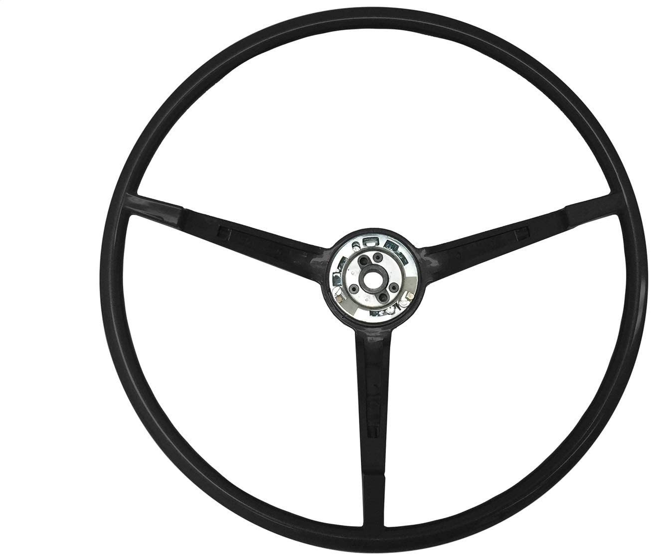 Volante OE Series Black Steering Wheel compatible with 1967 Ford Mustang   ST3035BLK