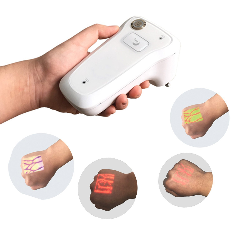 Infrared Vein Finder,Portable Vein Viewer Detector Locator Illumination Visualization Lights for Nurse in Transilluminator IV Phlebotomy