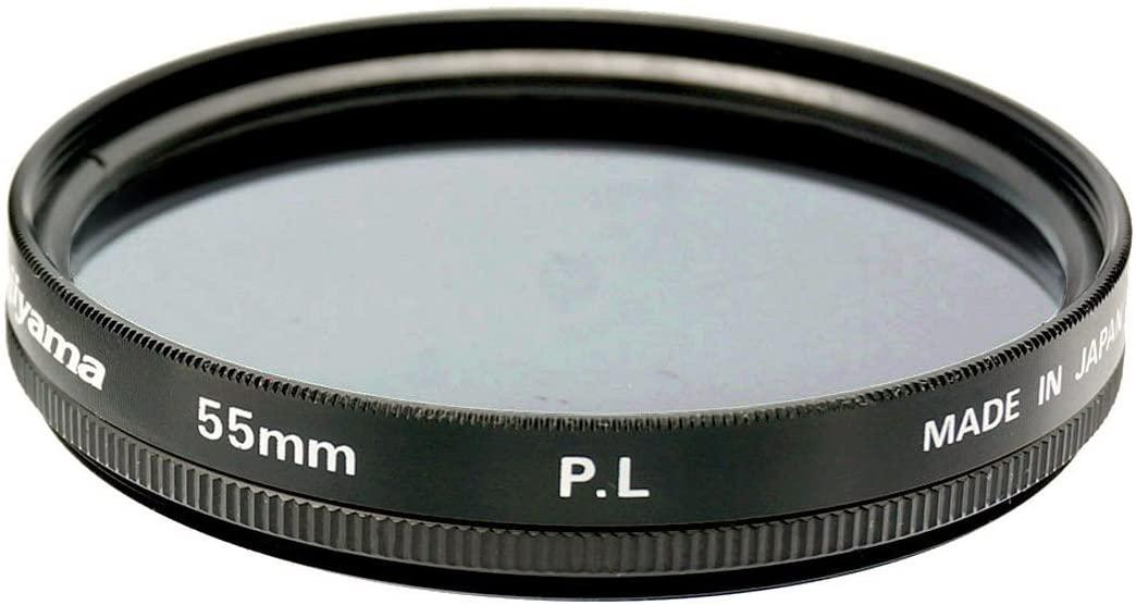 Fujiyama Black 55mm Polarizing Filter for Nikon 1 Nikkor VR 10-100mm f/4.5-5.6 Made in Japan