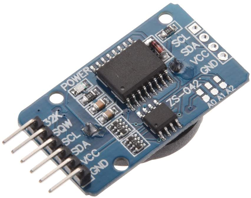 uxcell DS3231 AT24C32 IIC RTC Clock Timer Memory Module for Arduino