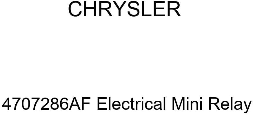 Genuine Chrysler 4707286AF Electrical Mini Relay