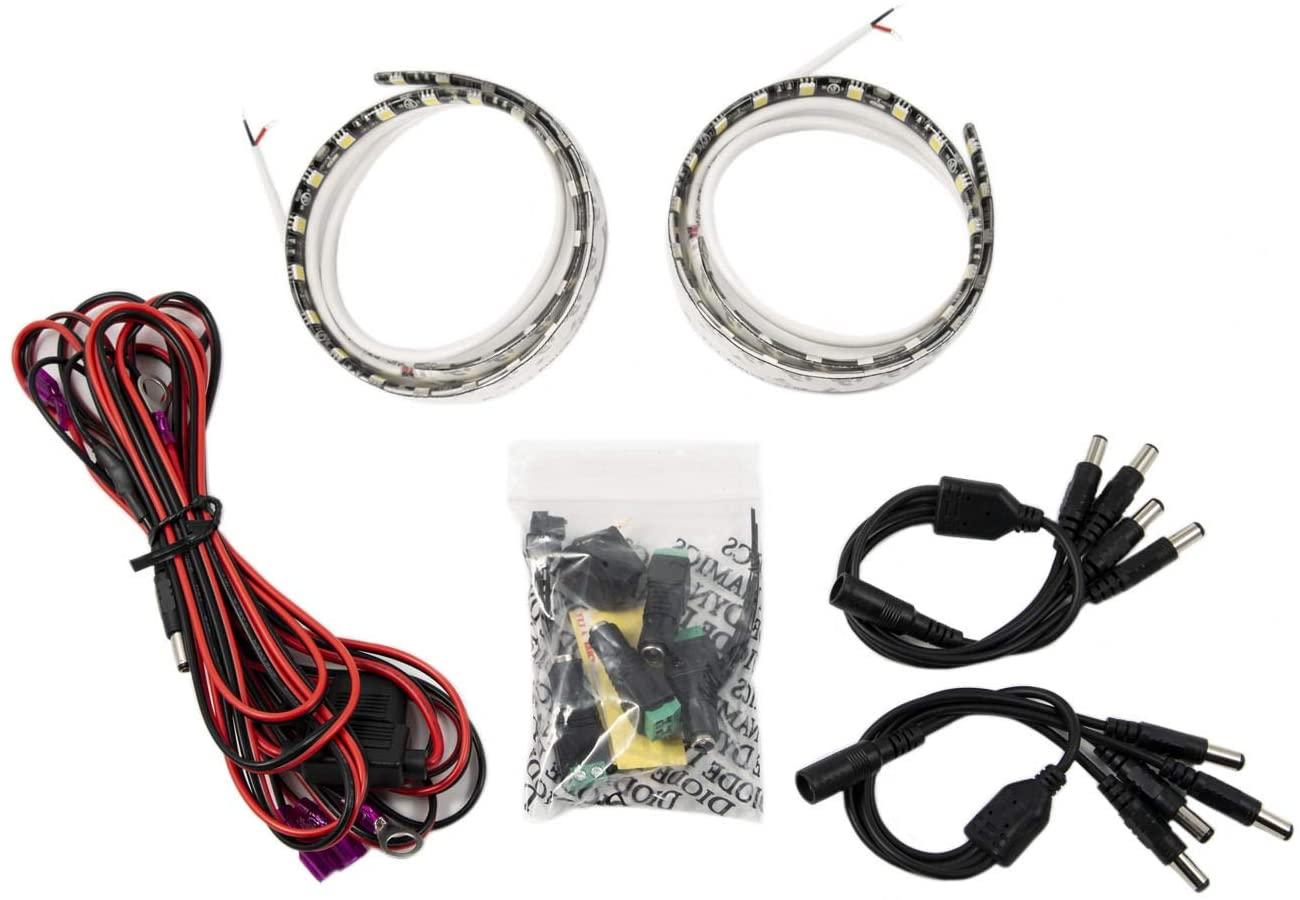 Diode Dynamics DD0252 Green Standard Grille LED Kit