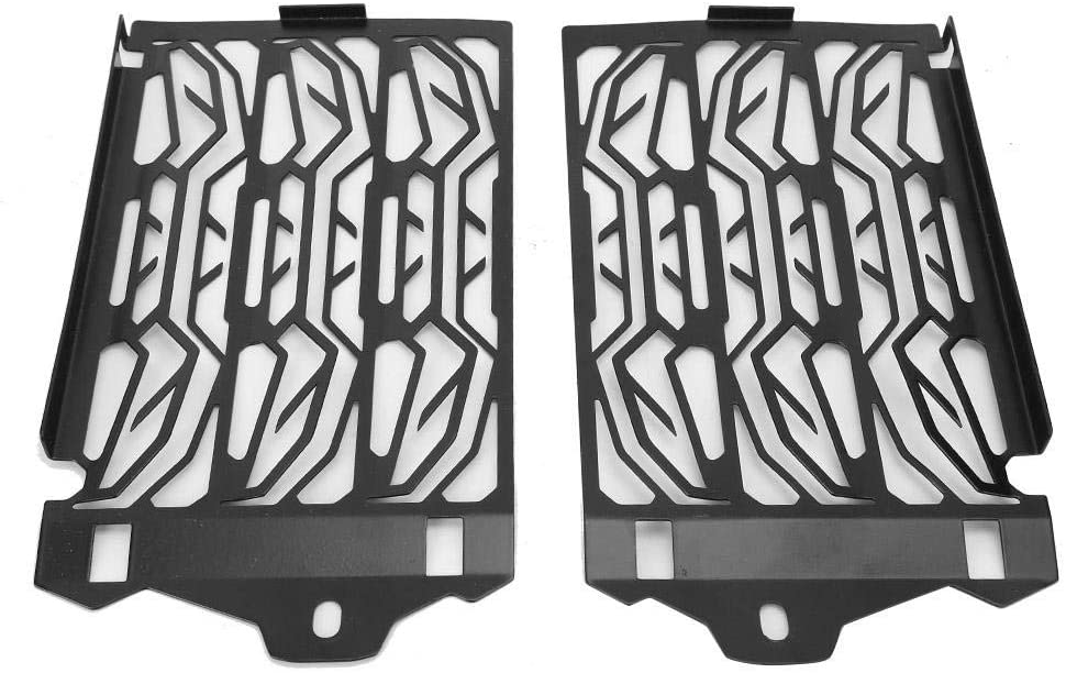 Senyar 2Pcs Radiator Guard,Motorcycle Radiator Grille Guard Protection Stainless Steel Frame Modified Parts Fit for R1200GS R1250GS