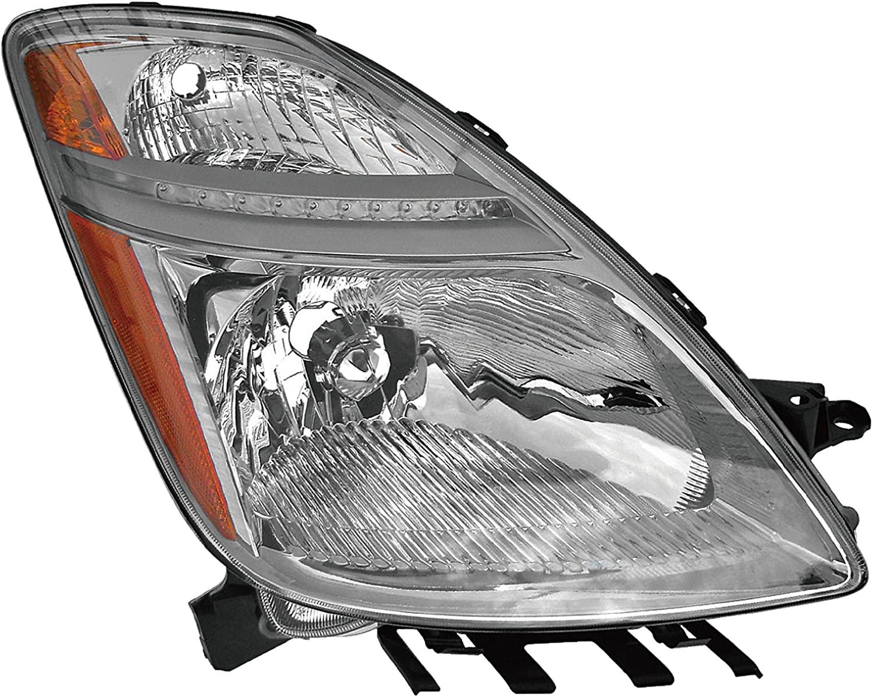 Dorman 1611233 Passenger Side Headlight Assembly For Select Toyota Models