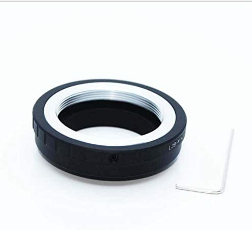 Compatible with for Leica L39 M39 39mm Mount Lens to & for Nikon 1 mirrorless Digital Cameras, Such as V1, J1, V2, J2, V3, J3, etc Camera