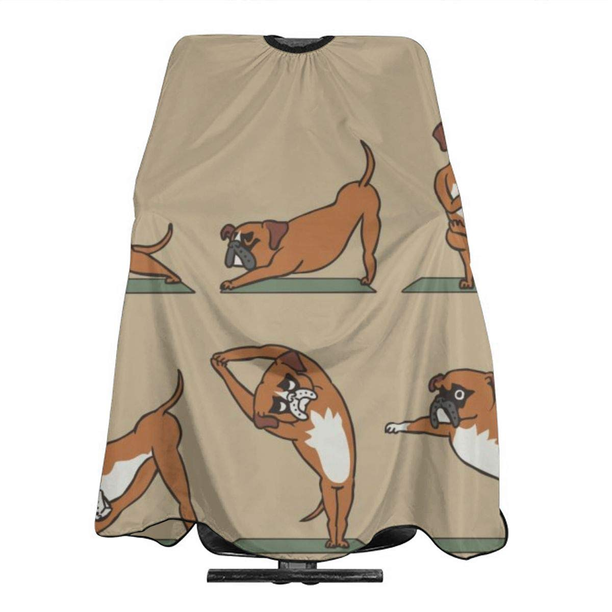 Professional Barber Cape Salon Hair Styling Cutting Haircut Aprons Boxer Yoga Dog Puppy Capes For Proof Hairdresser Coloring Perming Shampoo Chemical 55