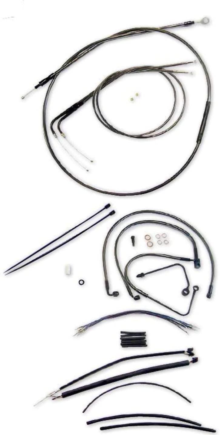 Magnum Black Pearl Handlebar Installation Kit - 12-14 Ape