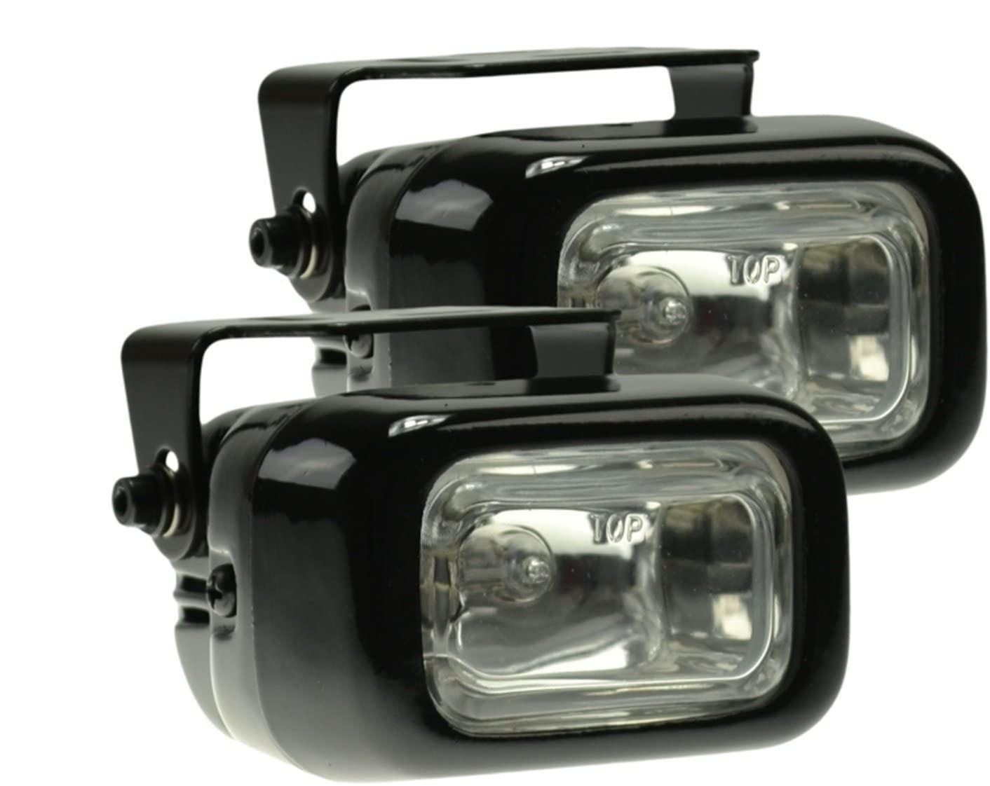 HELLA Optilux H71020061 Model 1400 12V/55W Rectangular Halogen Driving Lamp Kit