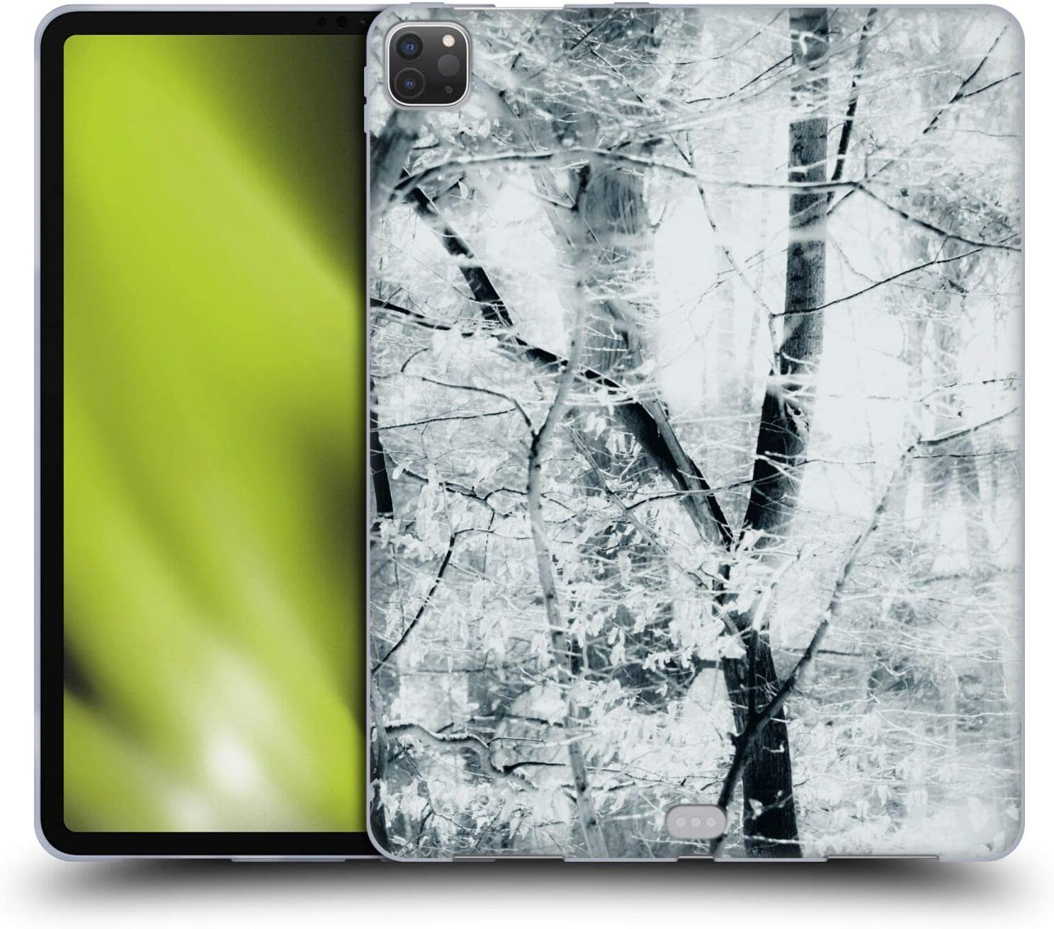 Head Case Designs Officially Licensed Dorit Fuhg Tree Breeze in The Forest Soft Gel Case Compatible with Apple iPad Pro 12.9 (2020)