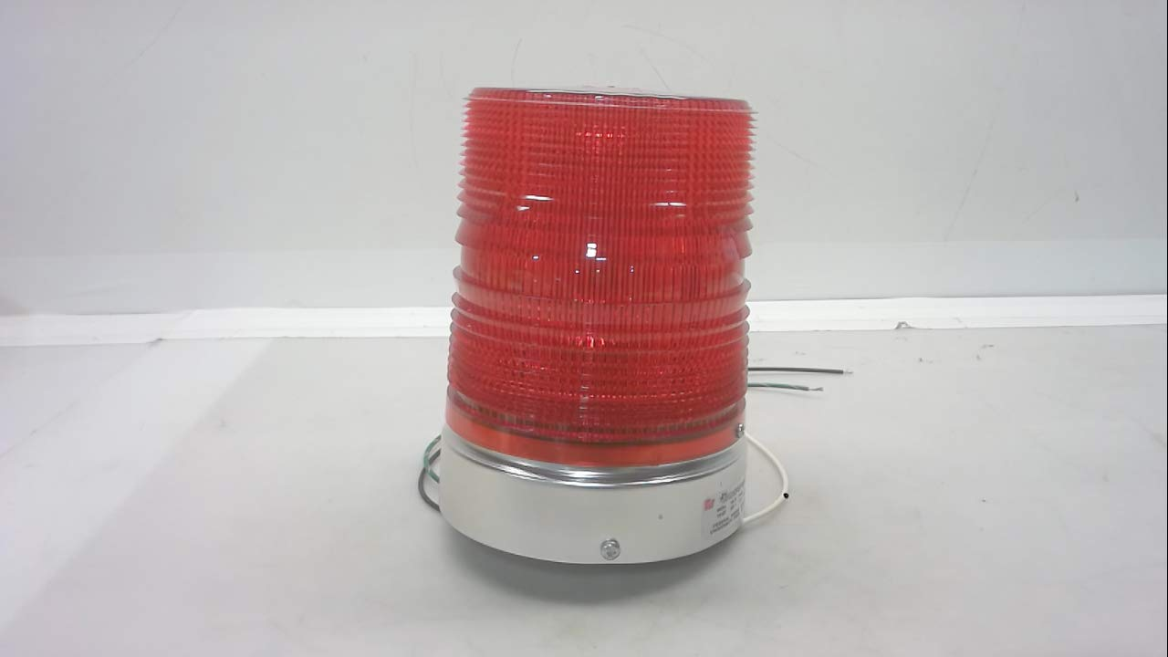 Federal Signal 131ST Starfire Strobe Light Base And Mount 120V AC 0.6A