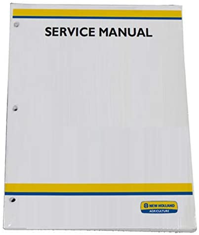 New Holland TC48DA, TC55DA Tractor Workshop Repair Service Manual - Part Number # 87357371