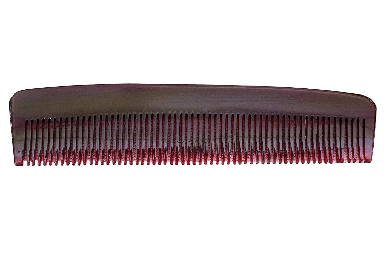 Garden of Arts Cellulose acetate sheet 12 Cms long2 Cms narrow 3D Tooth Comb