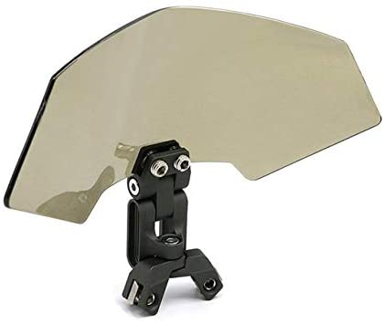 Motorcycle Windscreen Wind Deflector Motorcycle Windscreen Motorcycle Adjustable Windshield Wind Deflector Protector Stops Spoiler Fit For BMW Bmw R1200GS G310GS F750GS F850GS FF Windproof and Rainpro