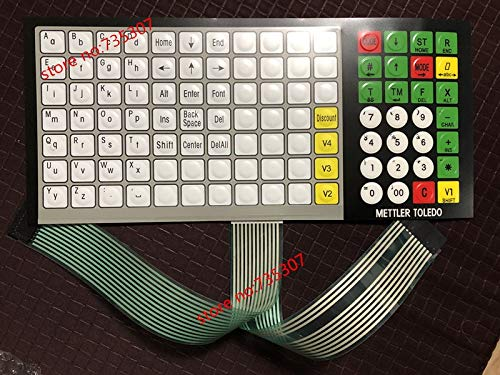 Printer Parts Original and New (English Version) Keyboard Film (Key Strengthen Edition) for Yoton 3650 Scale Retail Scale