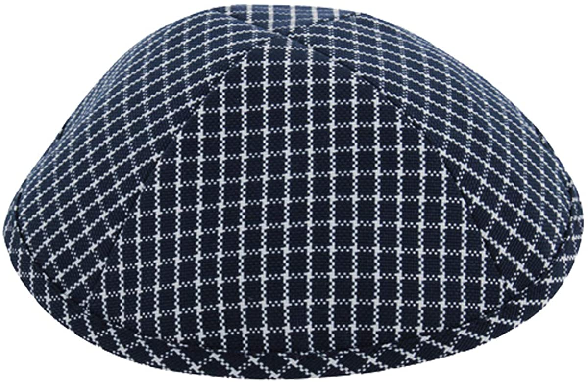 Fabric Kippah for Boys and Adults 7.5 in a Choice of 3 Colors