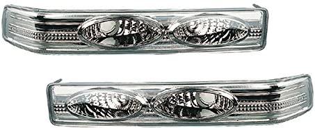 Sonar water leakage 1 year warranty! Euro bumper front lamp chrome inner crystal lens 98-04 Chevrolet S-10 / Blazer