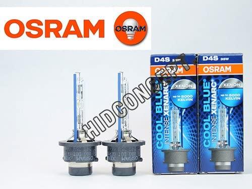 OSRAM Xenarc D4S 5000K CBI (Cool Intense Blue) HID BULBS - PAIR (Xenon Corp)