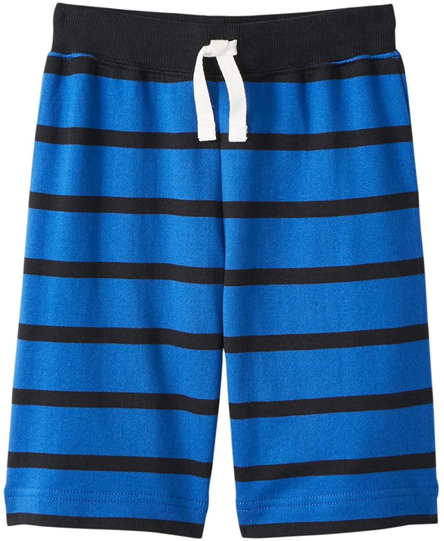 Hanna Andersson Boys Bright Basics Striped Shorts