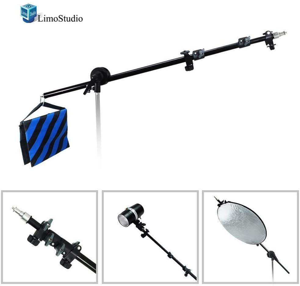 LimoStudio Photo Video Studio Lighting Boom Arm with Sandbag, AGG289