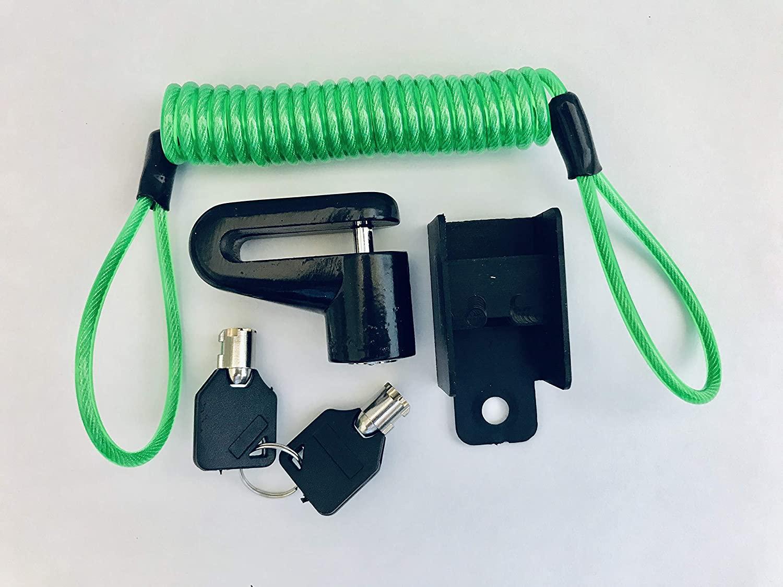 JLP Disk Lock & Reminder Brake Accessories Minder Cable Reminder Kawasaki ZX6 ZX7 ZX14 ZX10 Vulcan KZ
