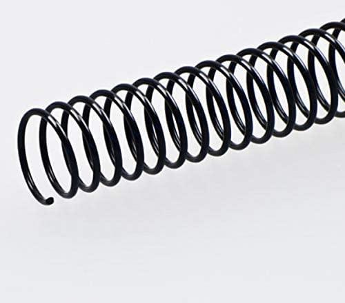 Fellowes 53150–Pack of 50Metal Spirals, 26mm, Black