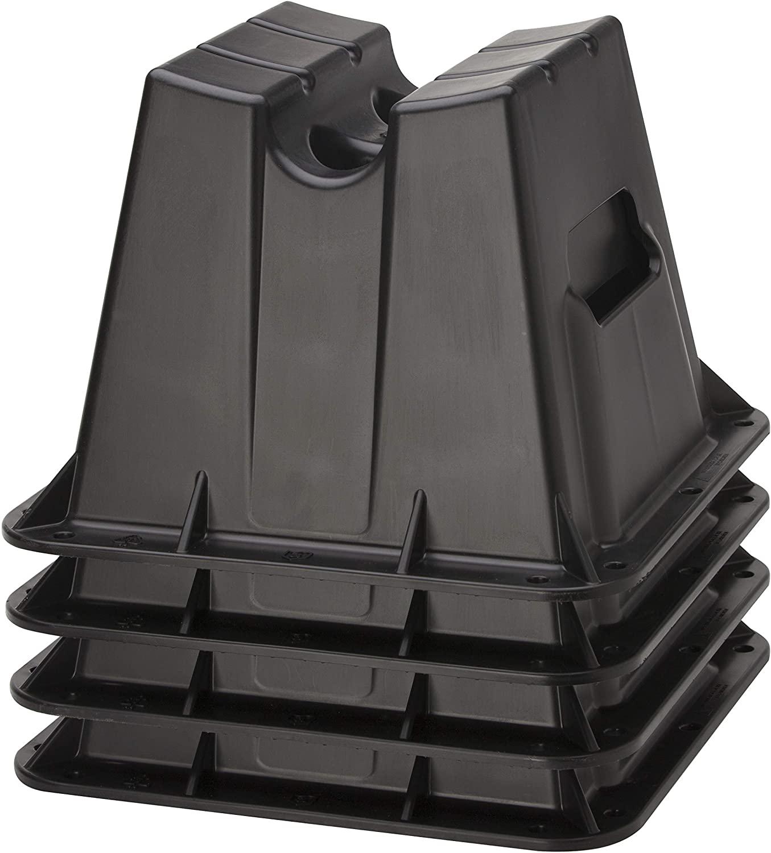 Attwood Brunswick Pontoon Storage Block Set ATTWOOD CORP, Black, One Size