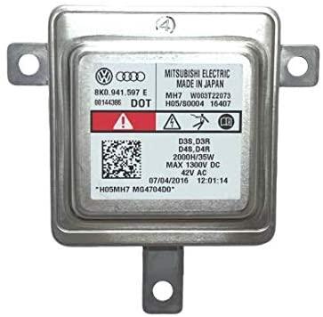 HID Headlight Ballast for Audi A1 A3 A4 A5 A6 A7 A8 Years 2008 2009 2010 2011 2012 2013 2014 2015 2016 2017 OEM Xenon Control Unit Computer Module