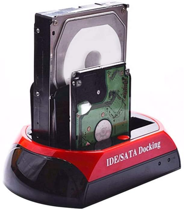 LFJNET 875D-J HDD Base with Multi Card Reader Slot for 2.5/3.5 inch SATA/IDE Hard Drive Docking Station