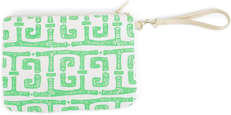 Monogrammed Wristlet - Personalized Clutch Wristlet Handbag